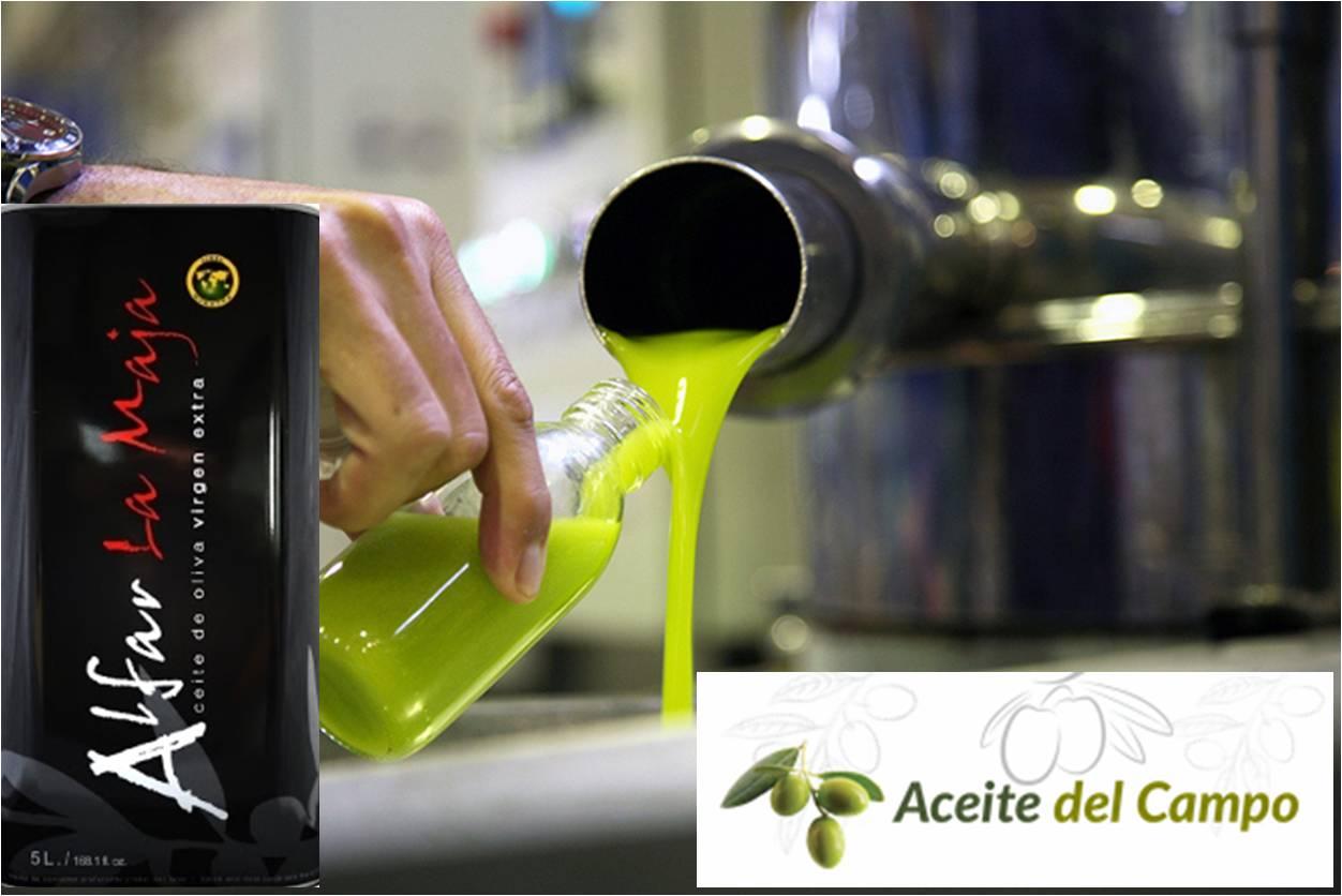 la venta de aceite de oliva